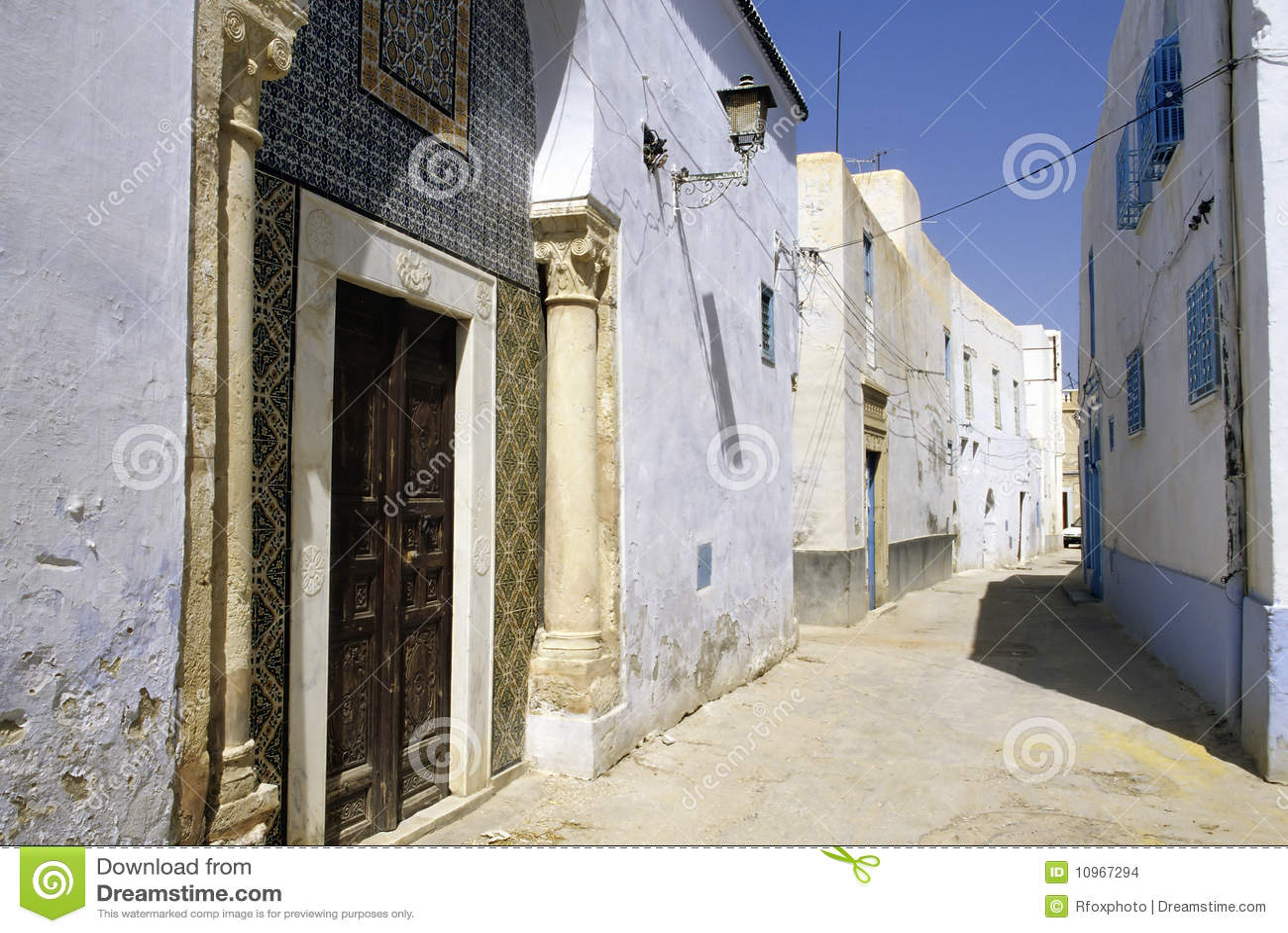 Kairouan Tunisia  city pictures gallery : ... of homes in the UNESCO World Heritage medina of Kairouan Tunisia