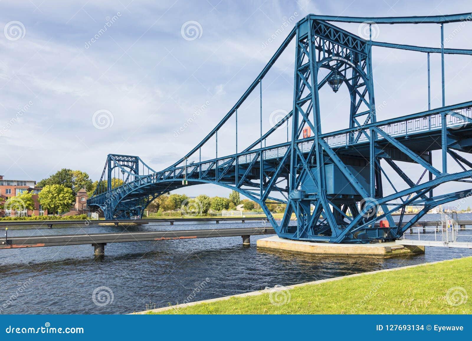 Kaiser Wilhelm Bridge chez Wilhelmshaven