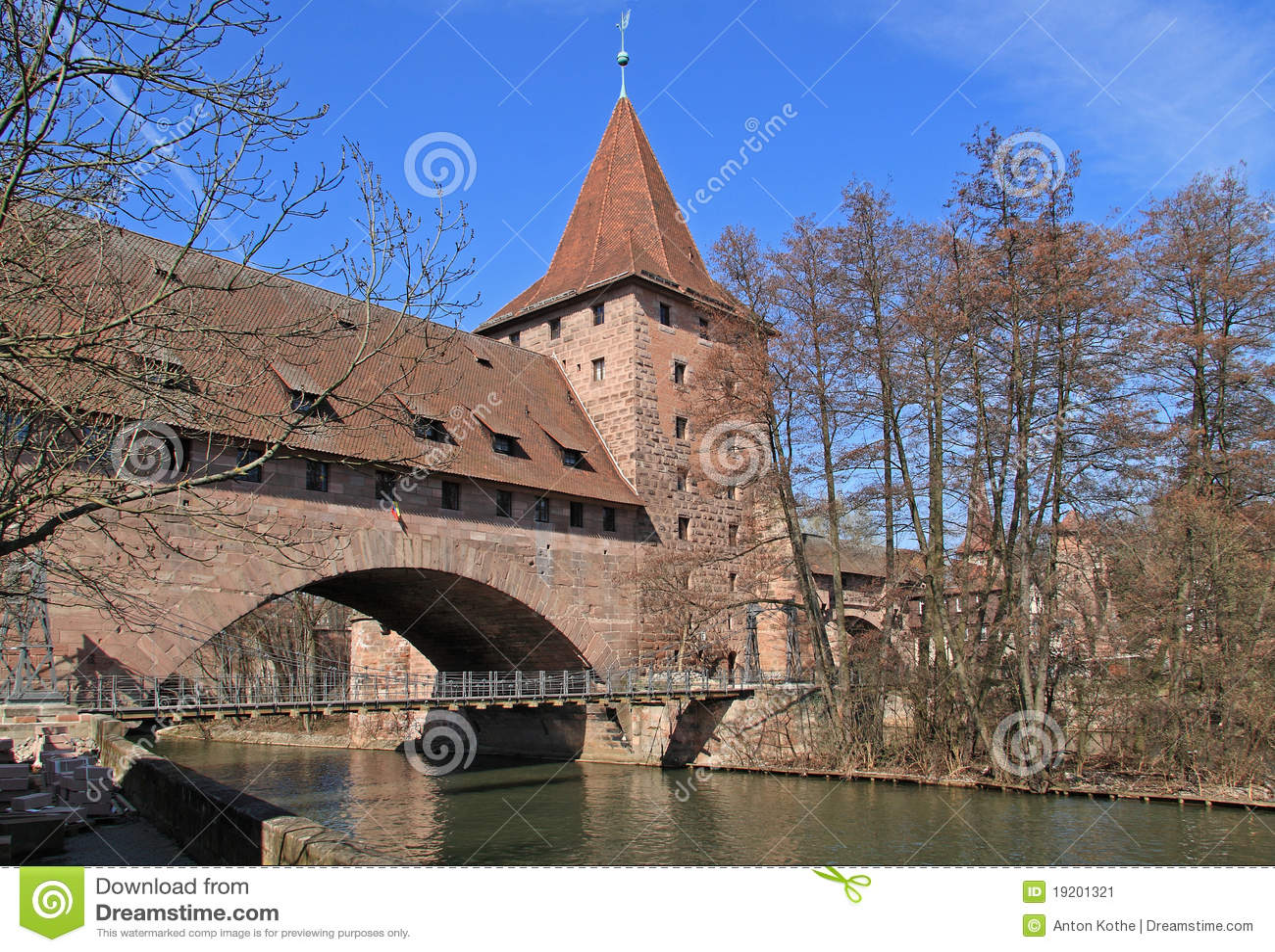 Kaisersteg kettensteg纽伦堡