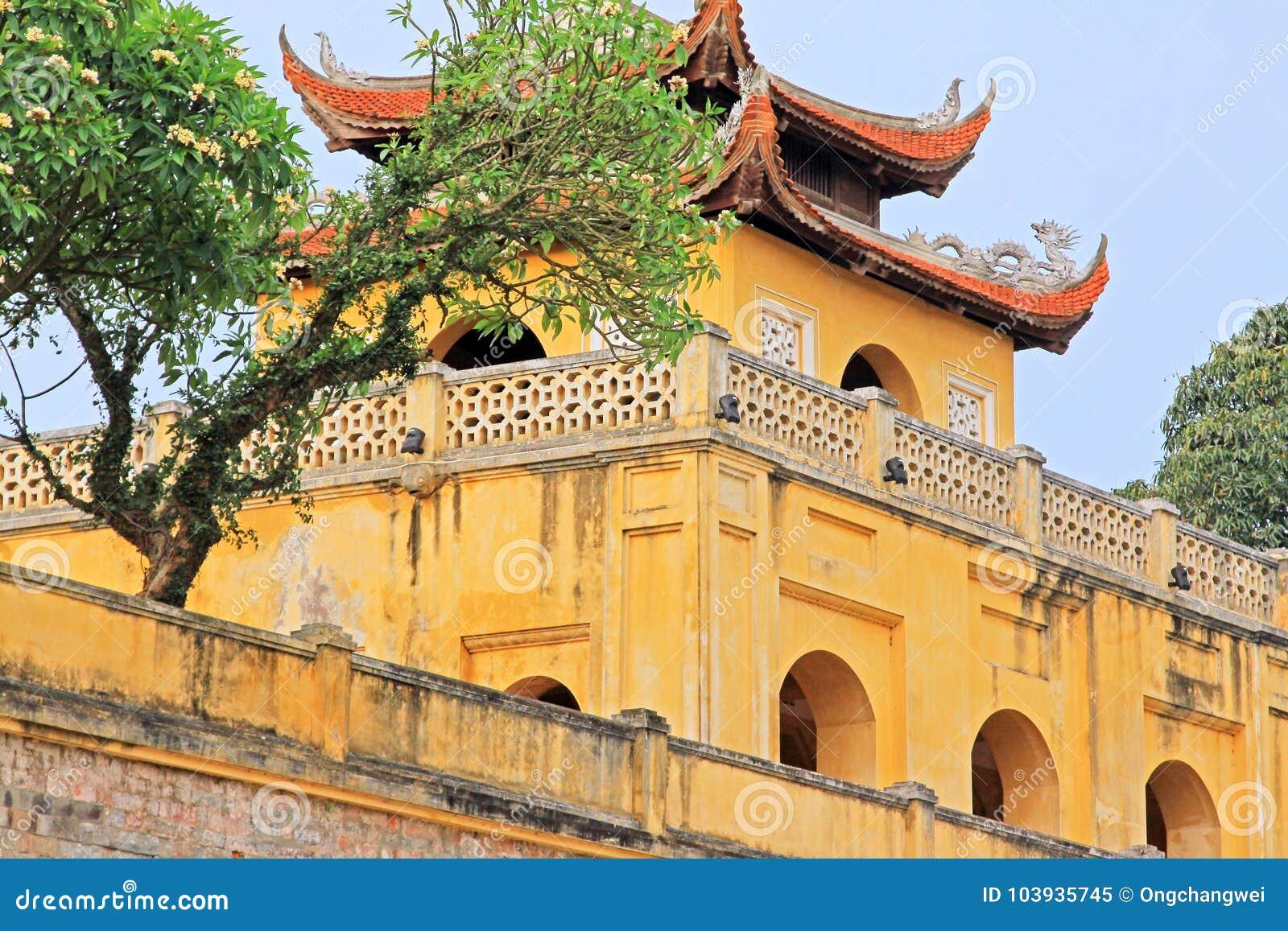 Kaiserzitadelle von Thăng lang, Vietnam UNESCO-Welterbe