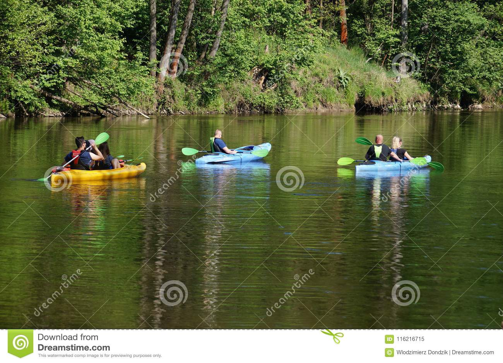 Kajakarstwo rzeka