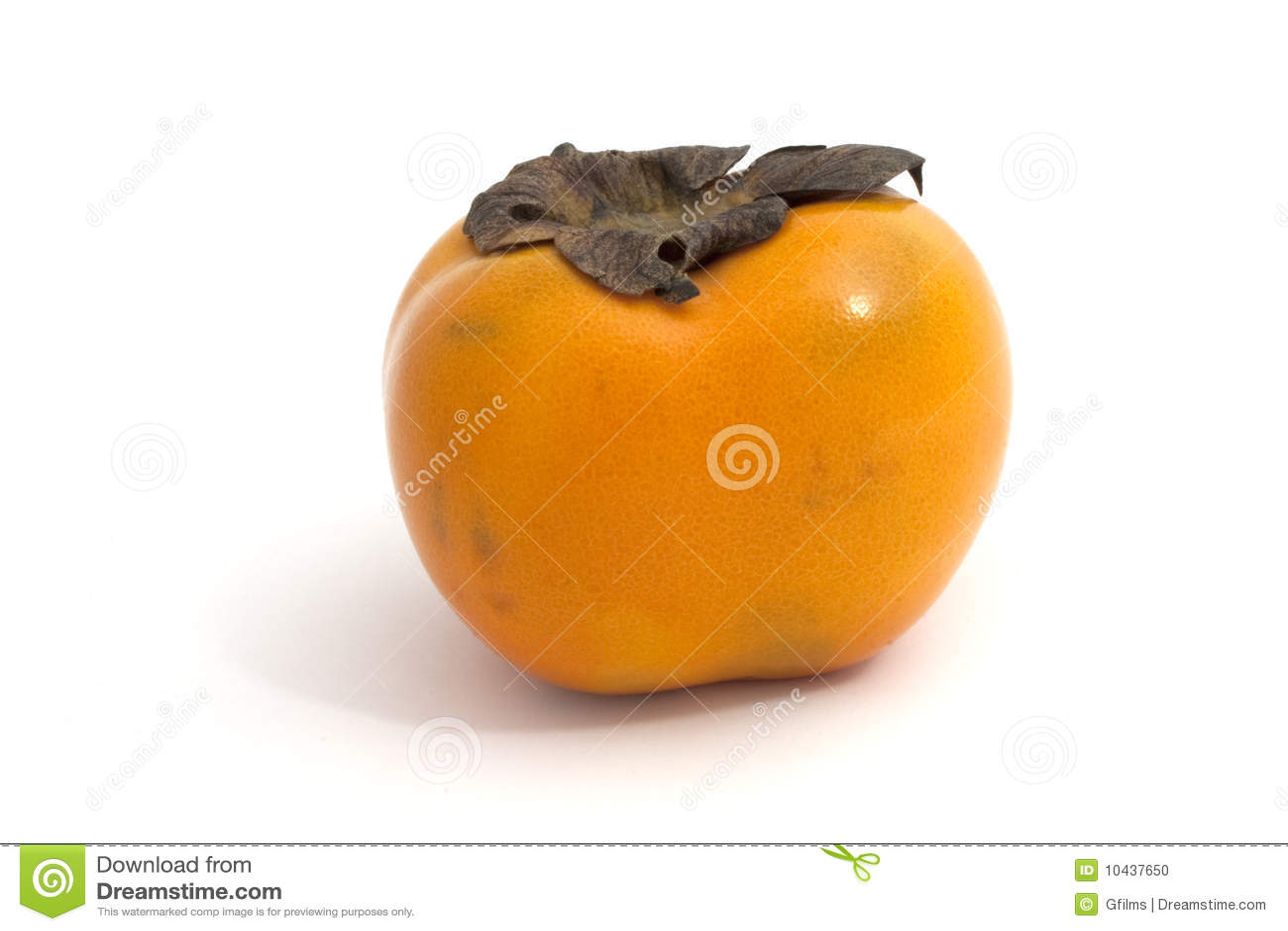 kaki stock photo image of gesund exotisch frucht kaki 10437650