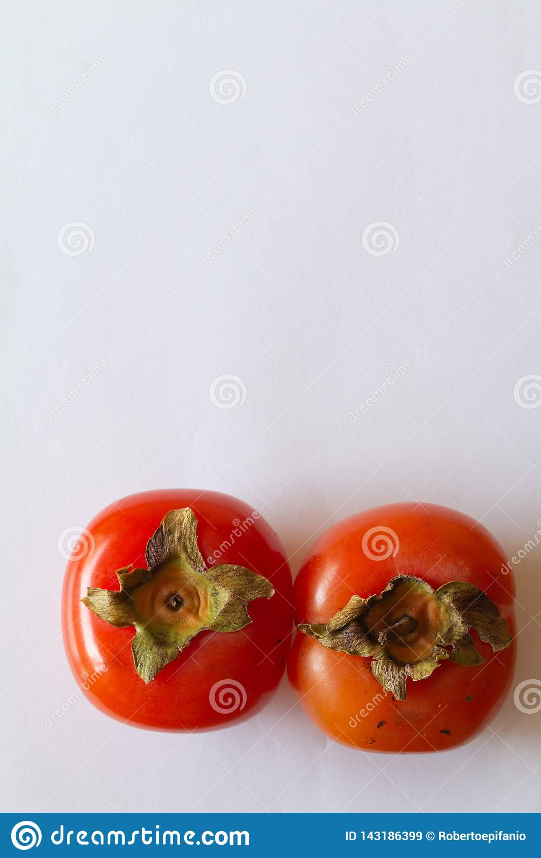 Kakipflaumenbaumfr?chte Persimonefrucht eine geschmackvolle japanische Frucht