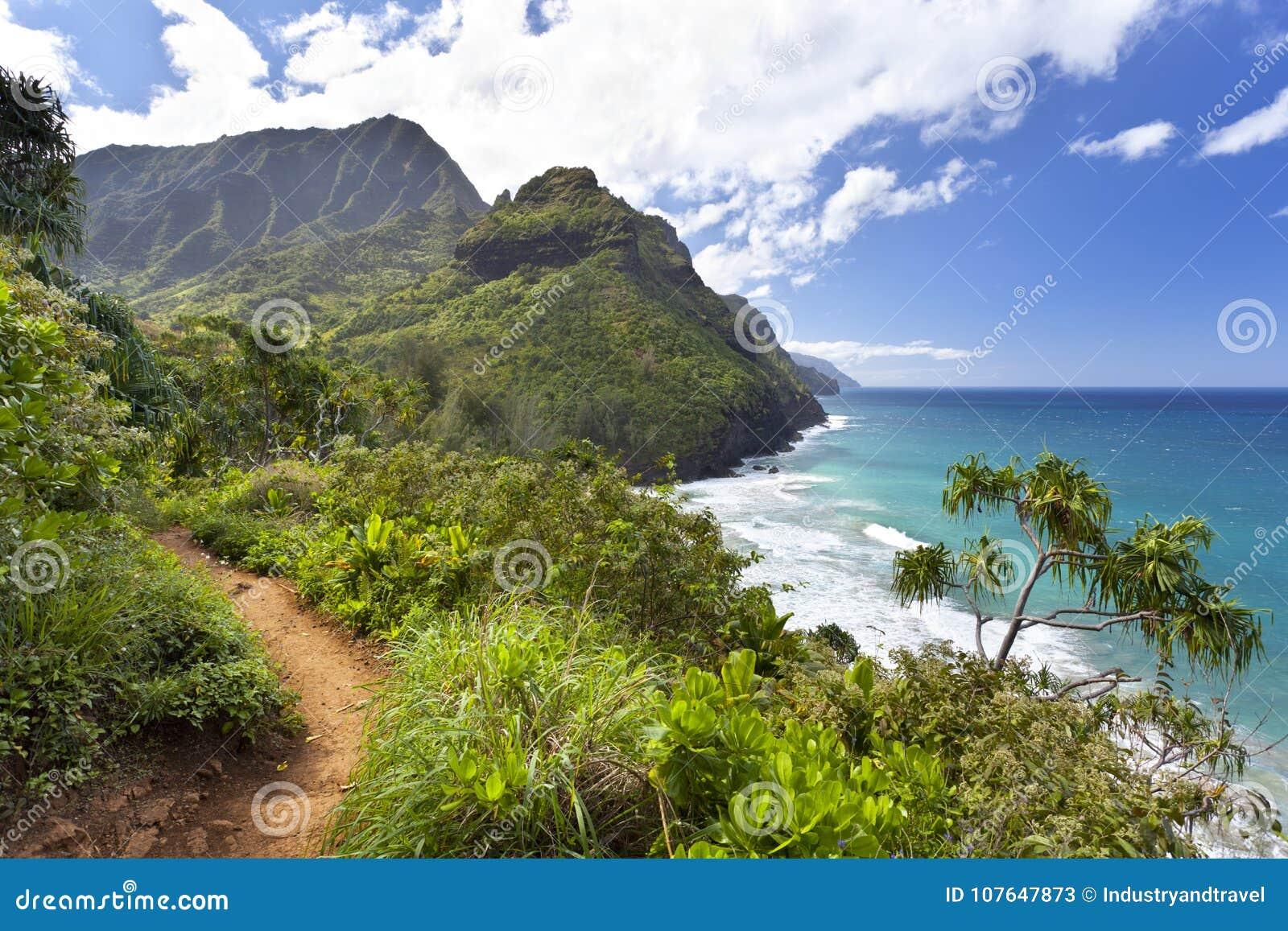 Kalalau足迹,考艾岛
