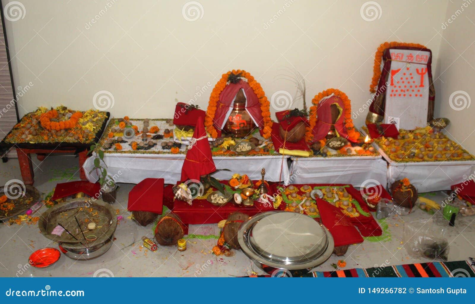 Kalash f?r indisk traditionspuja