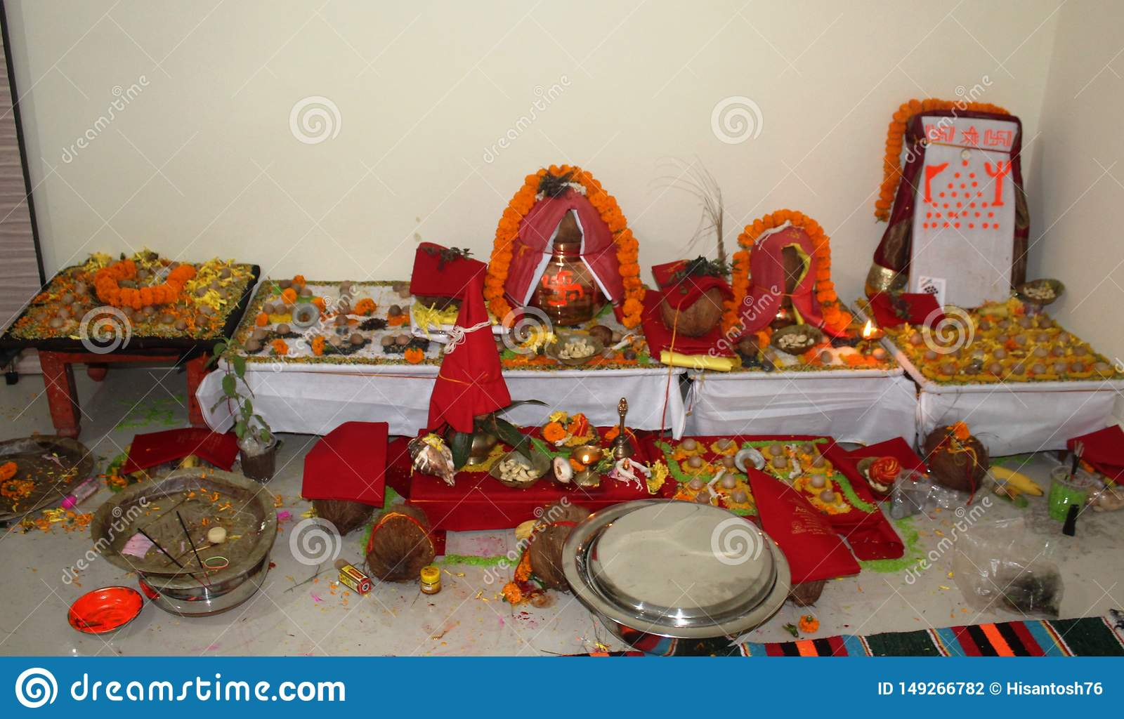 Kalash for indian tradition puja