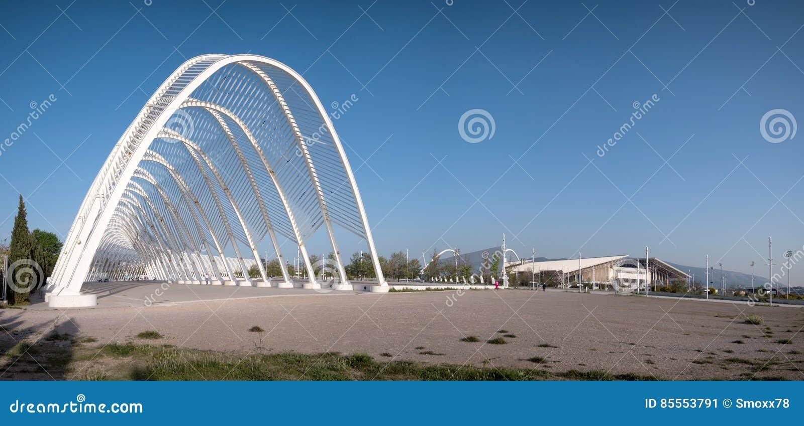 Kalatrava-` s Bau im Olympiastadion in Athen
