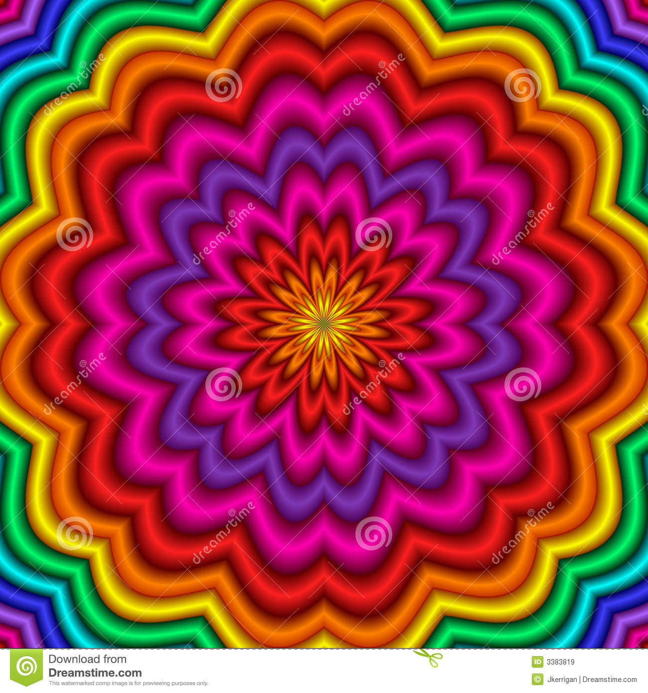 Kaleidoscope Royalty Free Stock Images - Image: 3383819