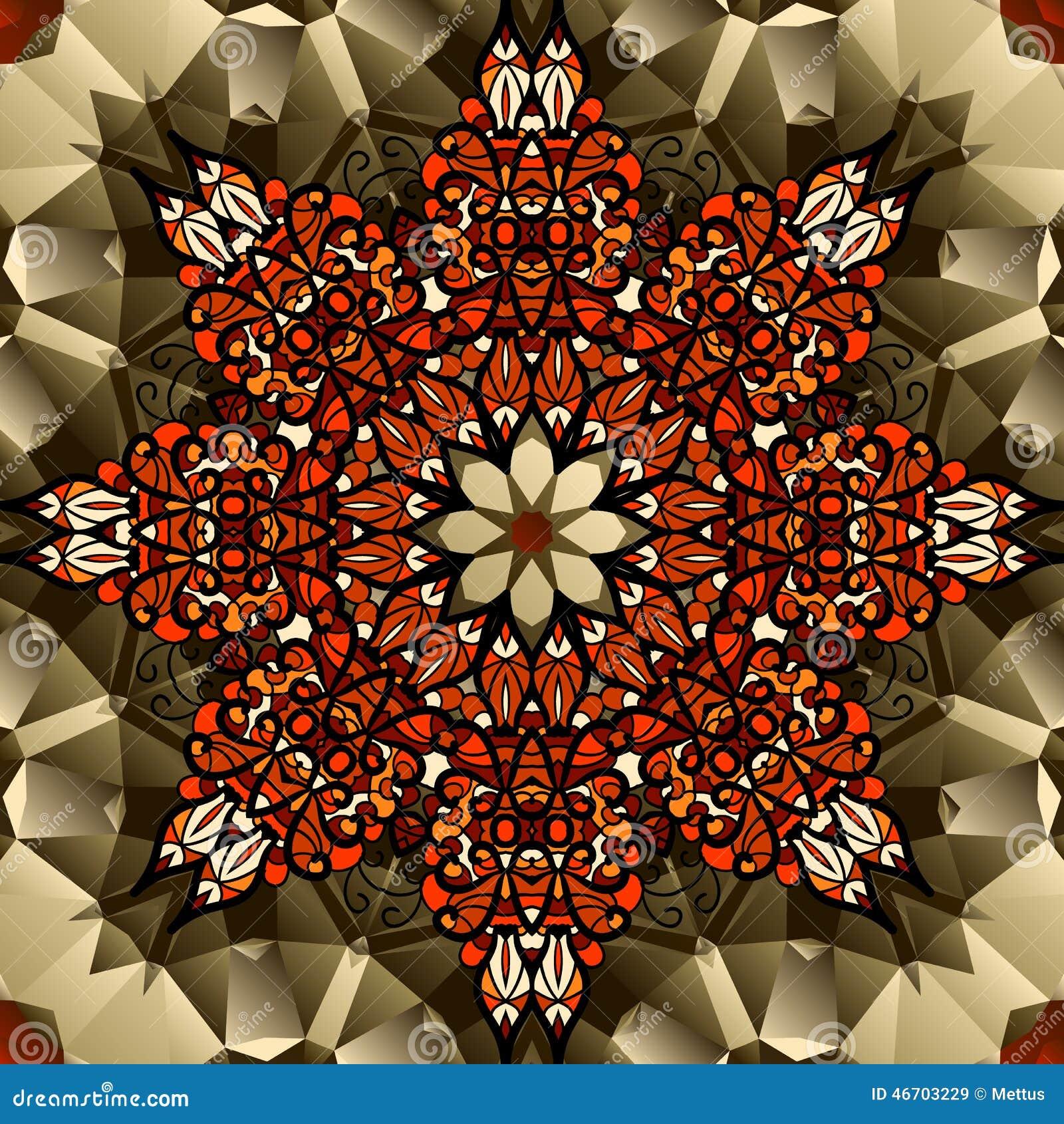Hindu mandala lotus flower pattern stock vector image 54951841 mandala lotus flower symbol royalty free stock images dhlflorist Gallery