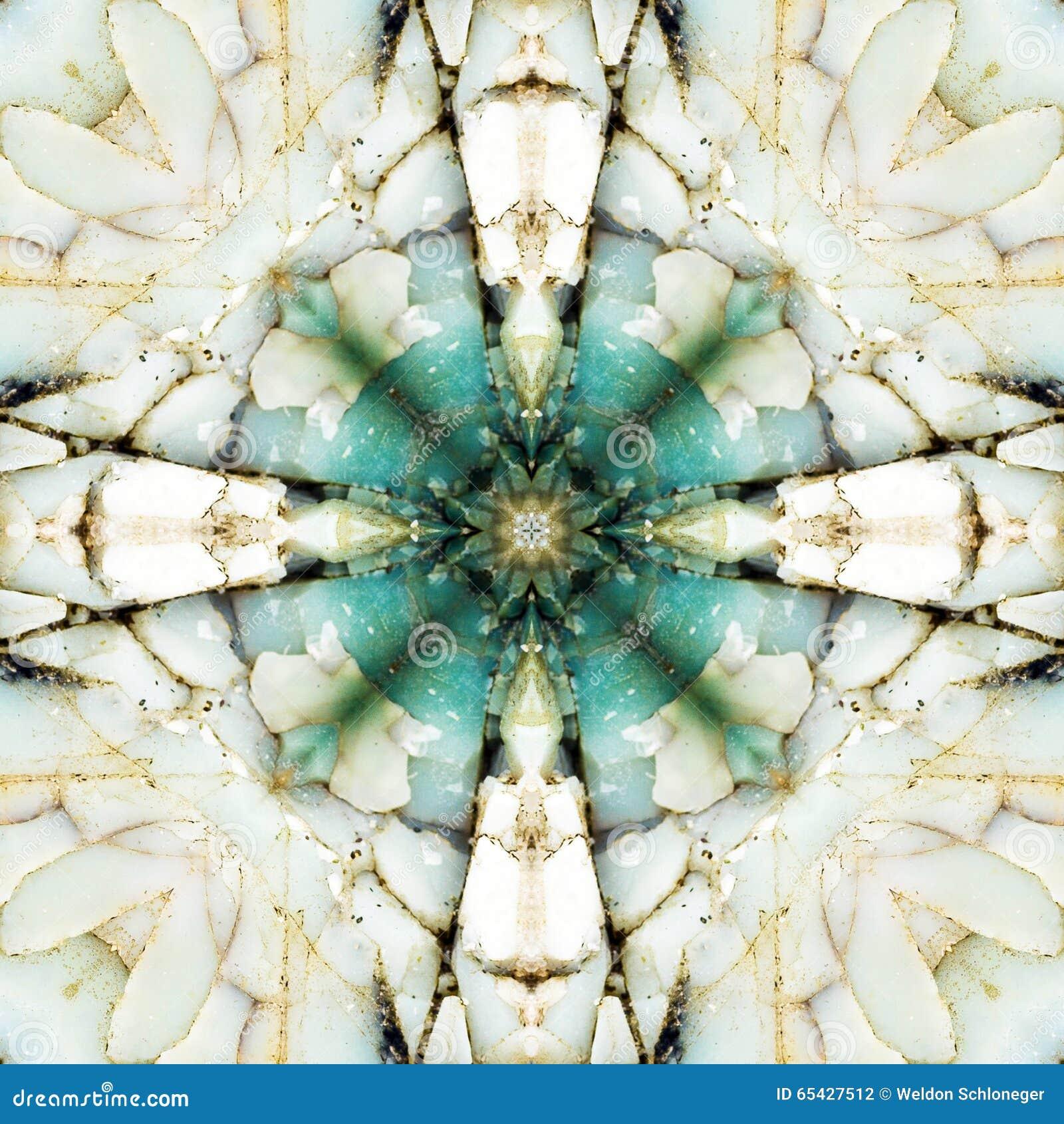 Kaleidoscope square: chert layers, Oregon coast