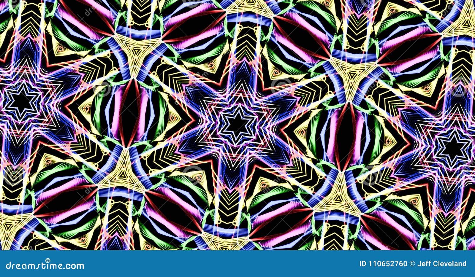 Kaleidoscope Patterns Simple Decorating
