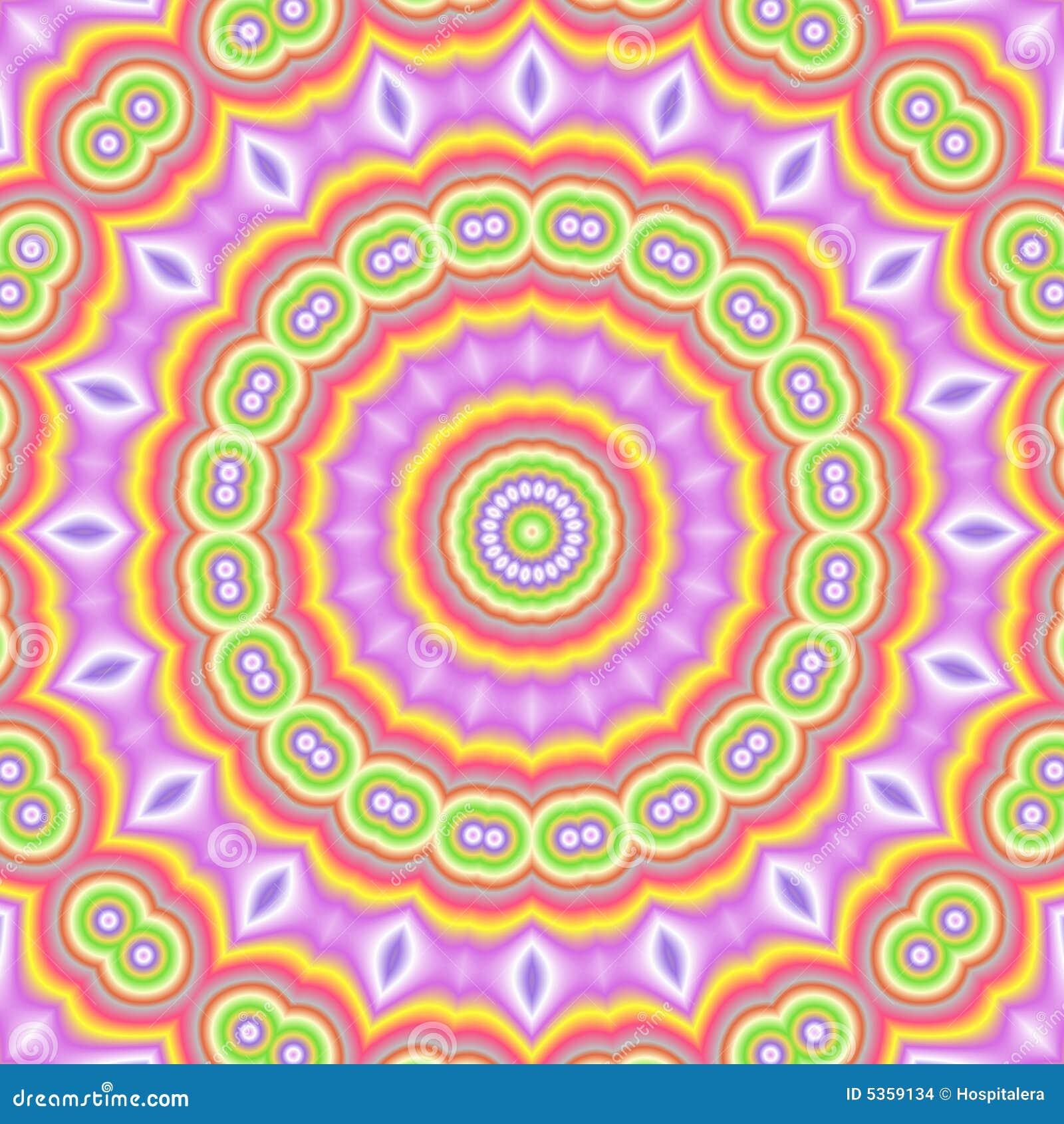 Kaleidoscopic popart