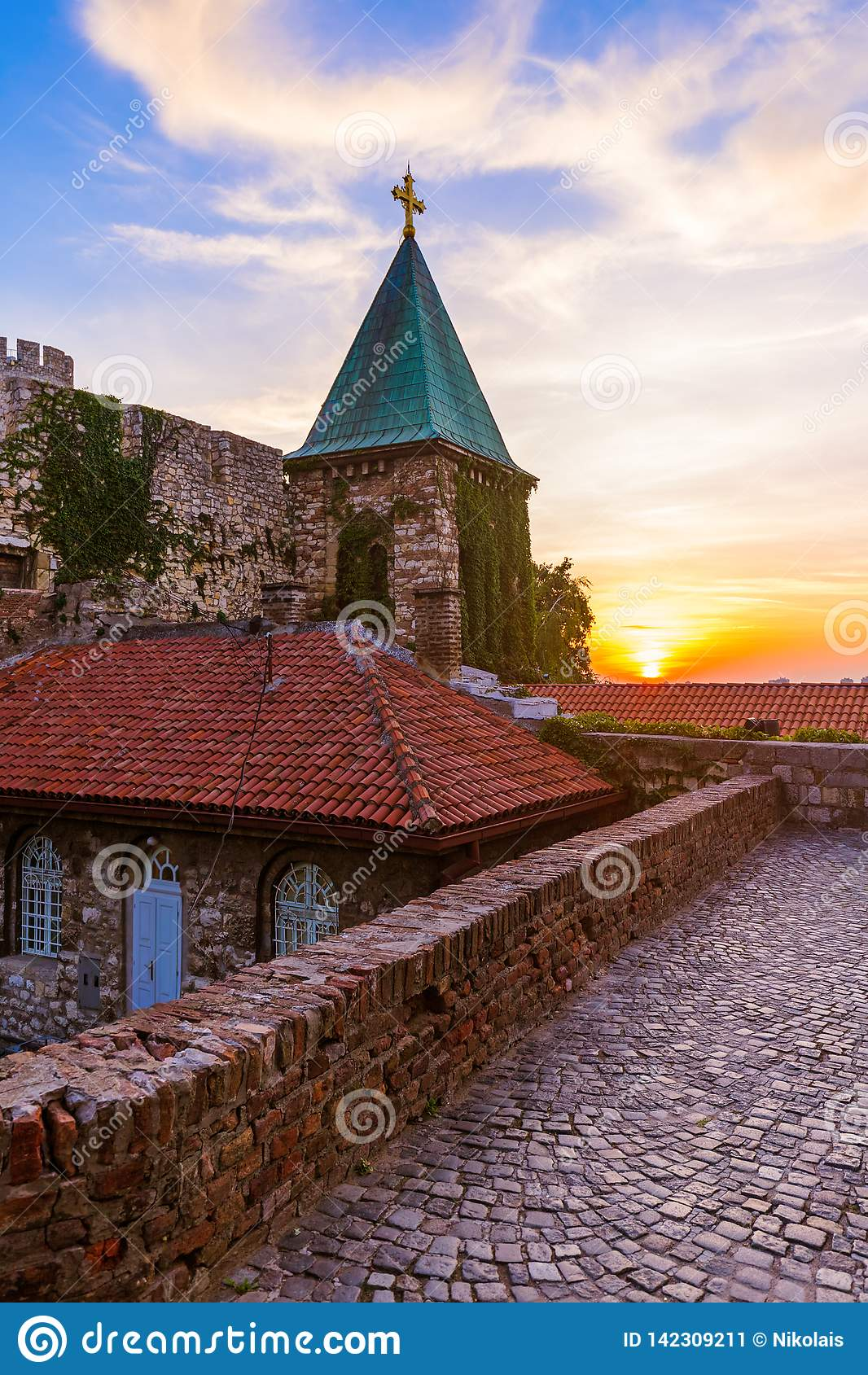Kalemegdan fästning Beograd - Serbien