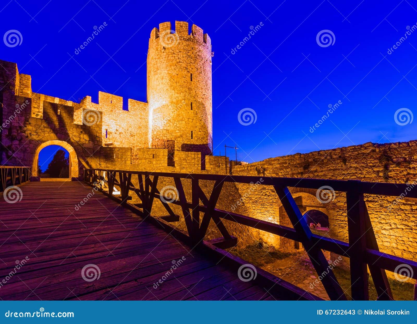 Kalemegdan forteczny Beograd, Serbia -