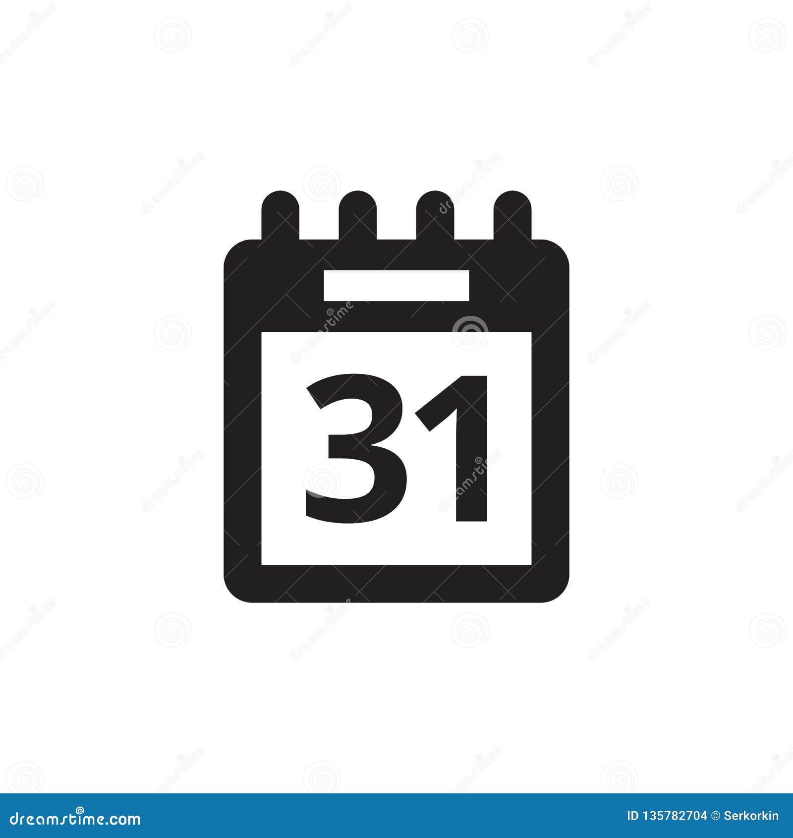 Kalendarzowa agenda - czarna ikona na białego tła wektorowej ilustracji dla strony internetowej, mobilny zastosowanie, prezentacj