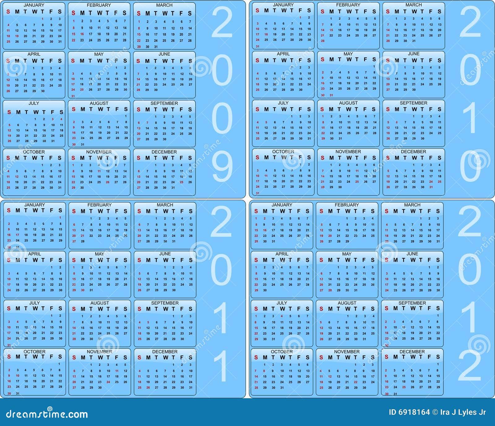 Kalendarzowy set