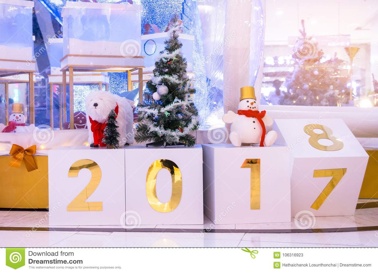 Kalenderänderung Bis 2018 Atmosphärisches Weihnachts- Und Des Neuen ...