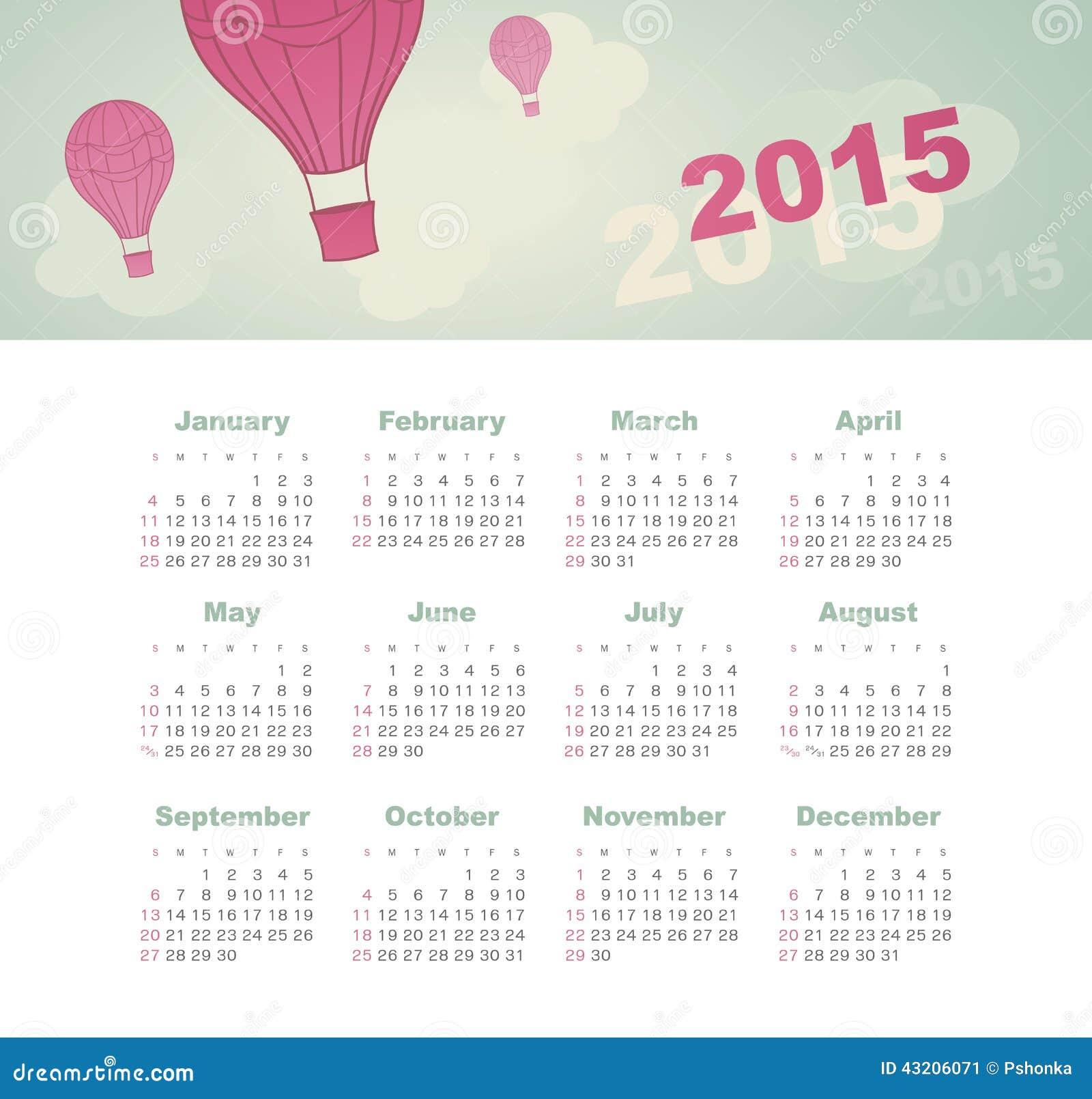 Download Kalender 2015 år Med Draken Vektor Illustrationer - Illustration av affär, green: 43206071