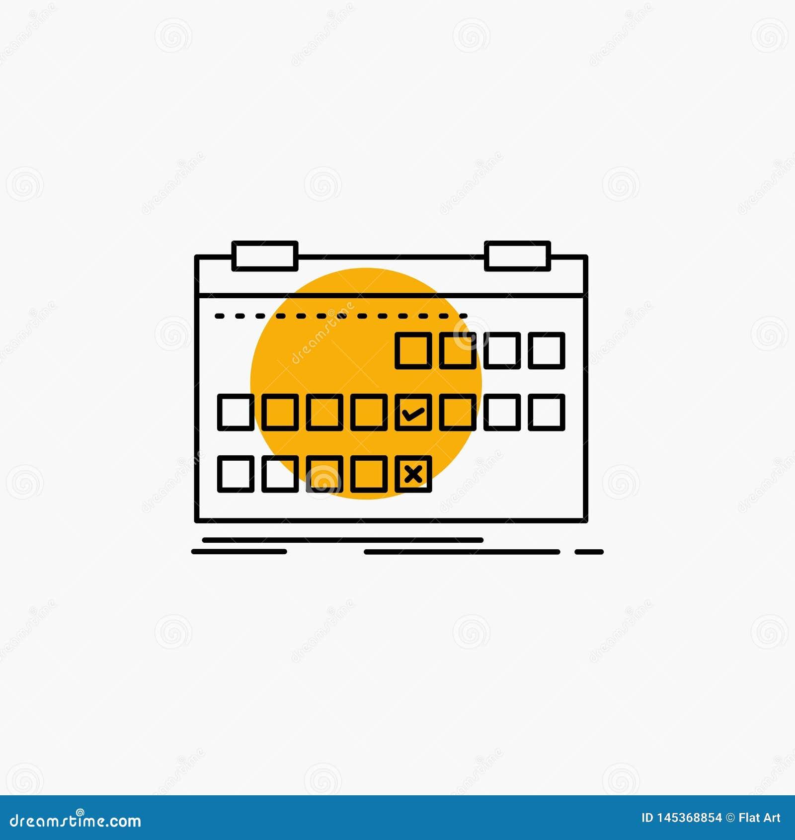Kalender datum, h?ndelse, frig?rare, schemalinje symbol