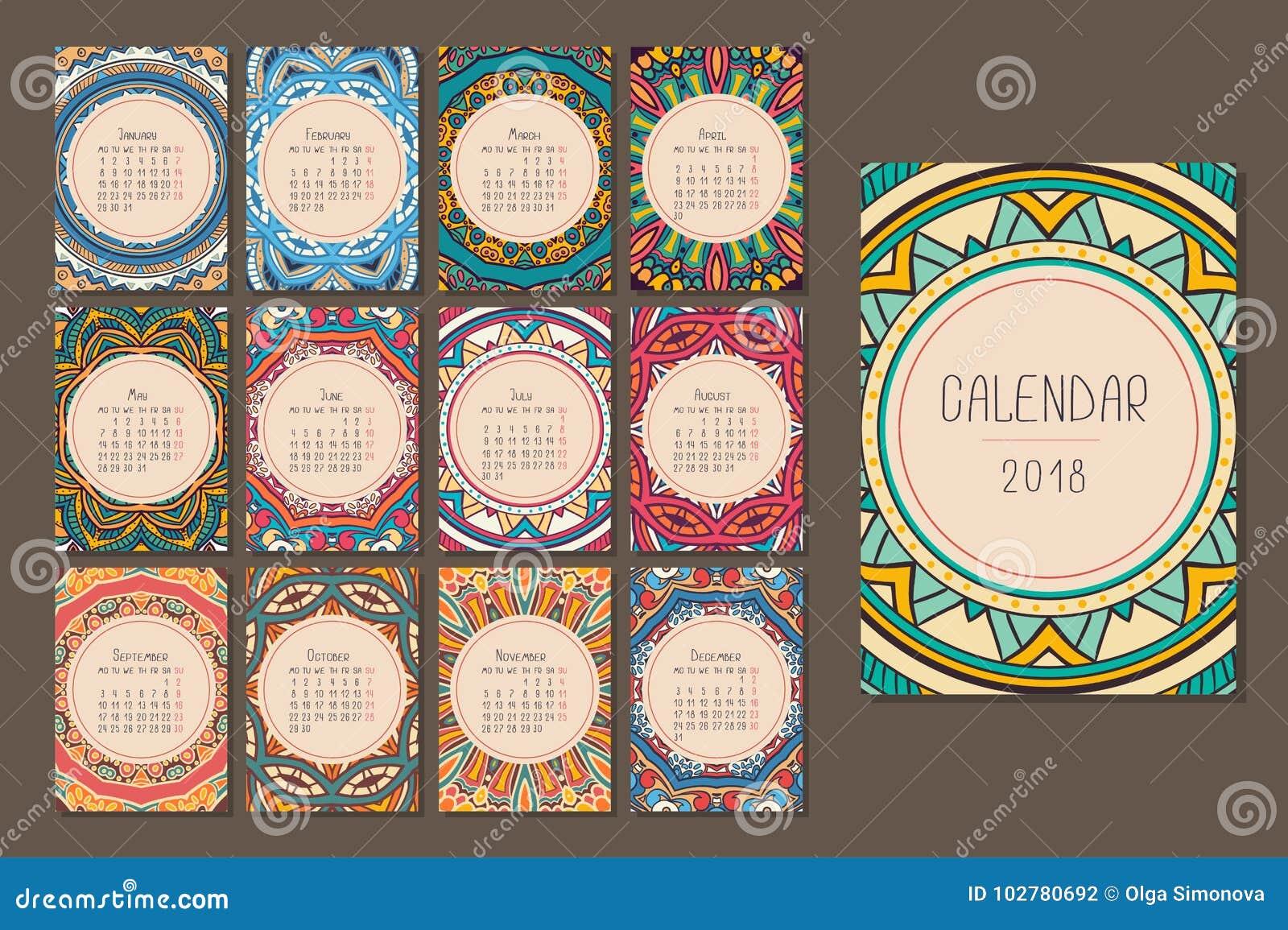 Kalender för 2018