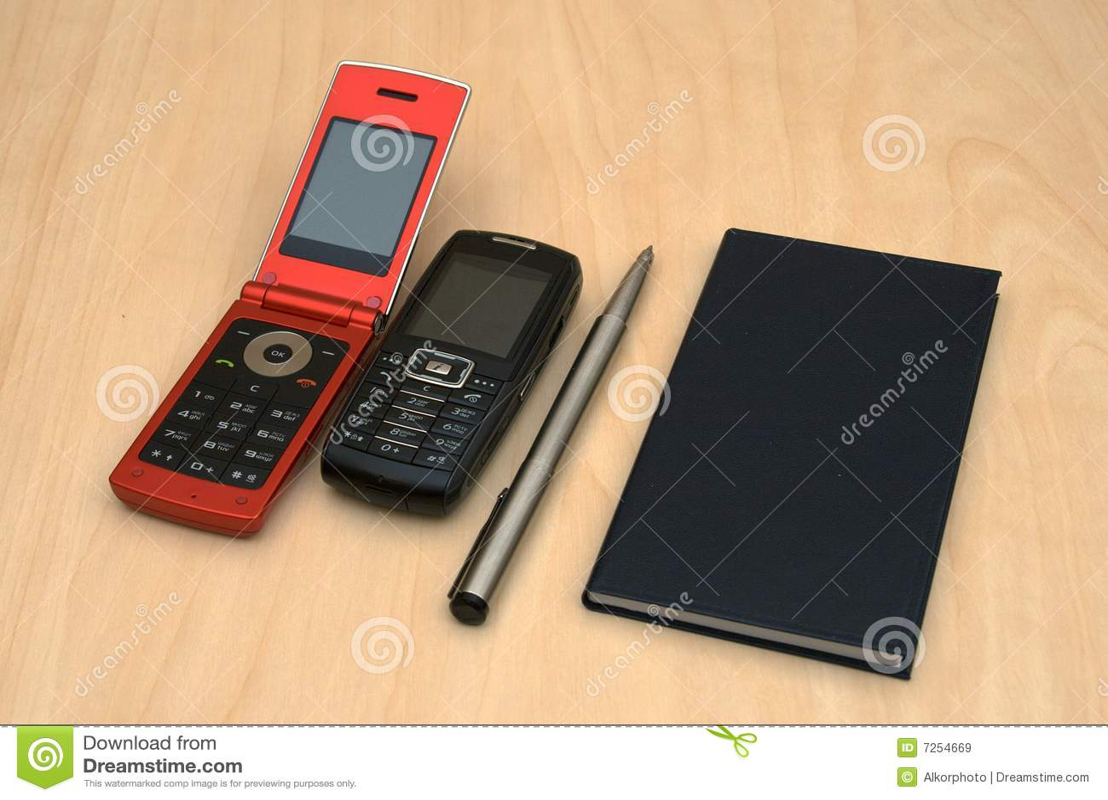 Kalender mobiles en pen