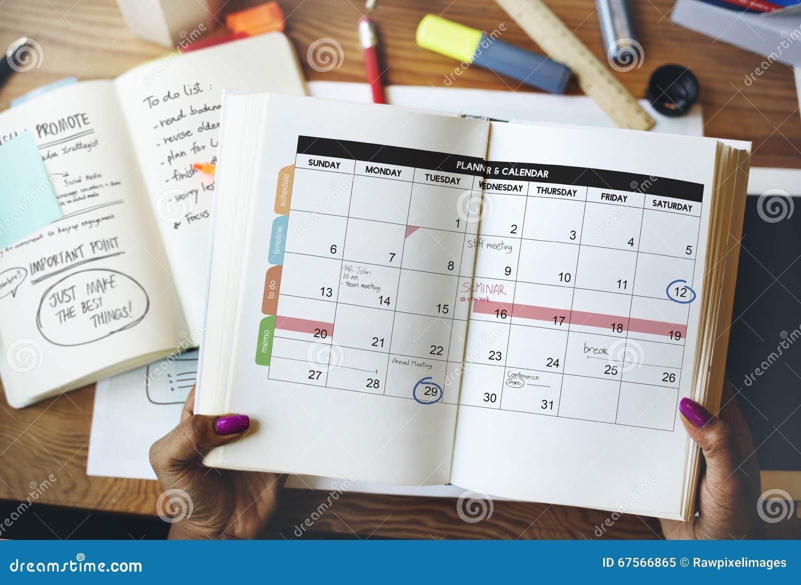 kalender planer organisations management erinnern konzept stockbild bild von notizblock. Black Bedroom Furniture Sets. Home Design Ideas