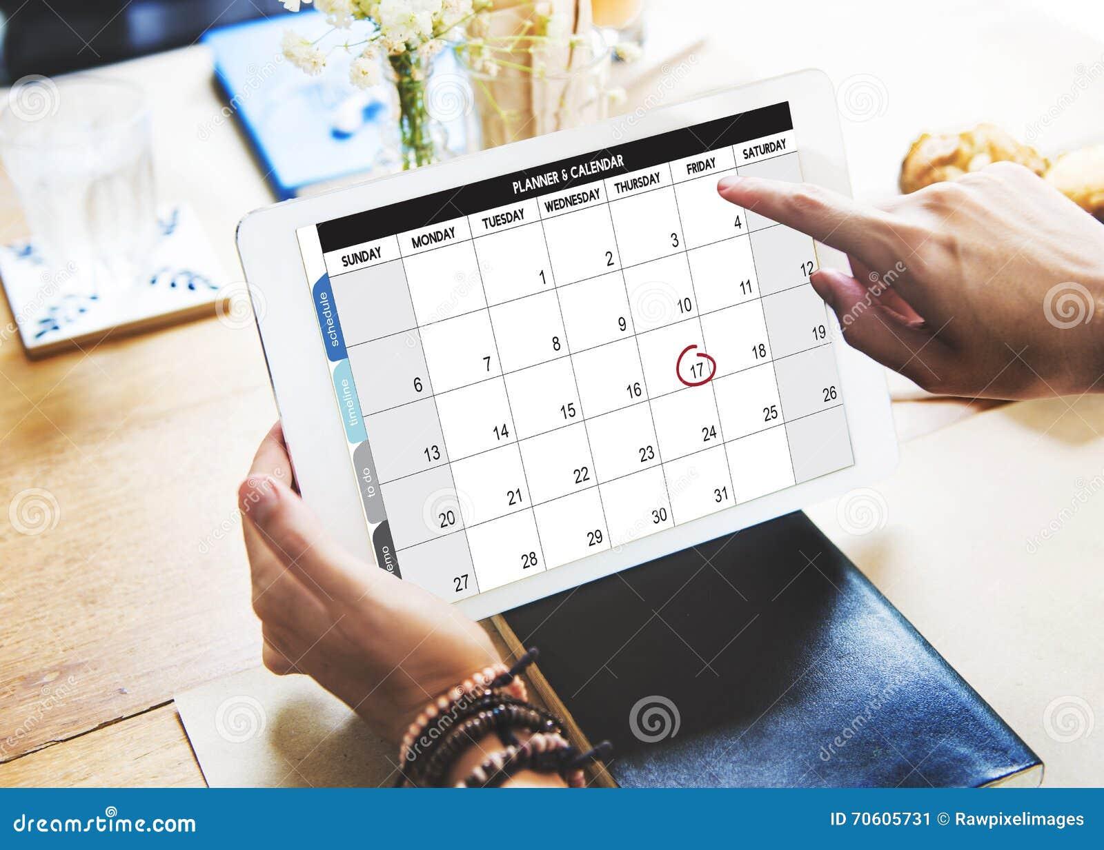 kalender planer organisations management erinnern konzept stockbild bild von calender digital. Black Bedroom Furniture Sets. Home Design Ideas