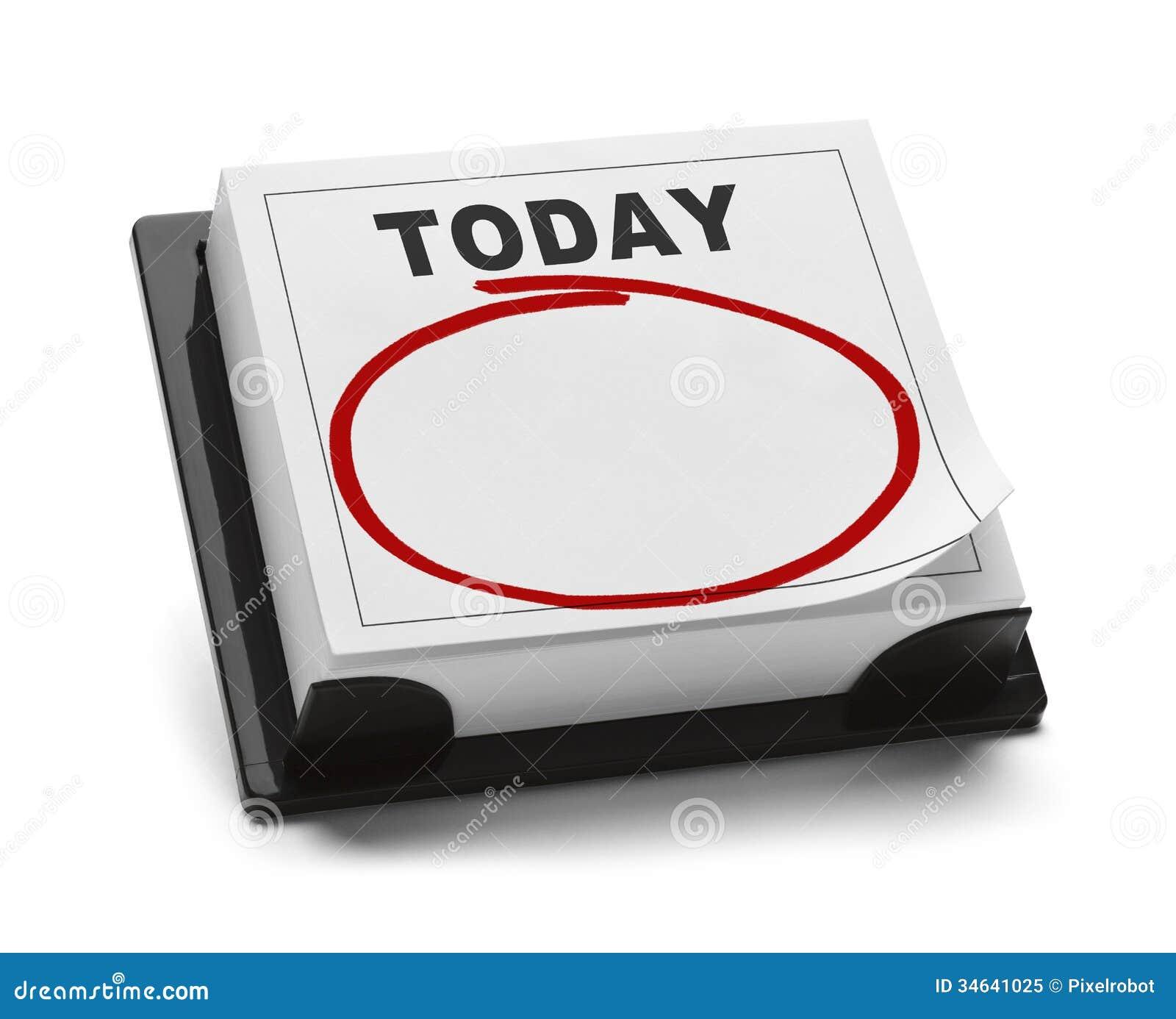 Kalender von heute