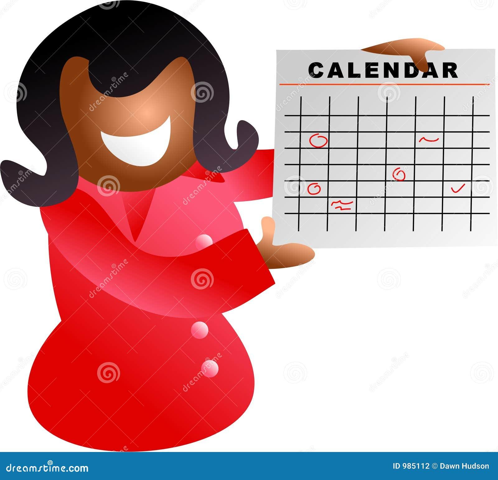 Kalenderflicka