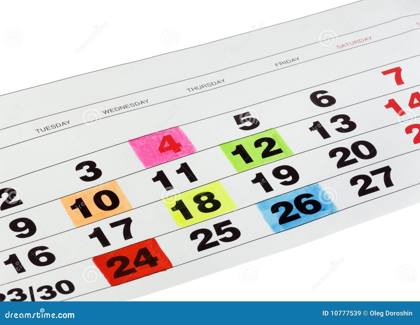 Kalendermaand