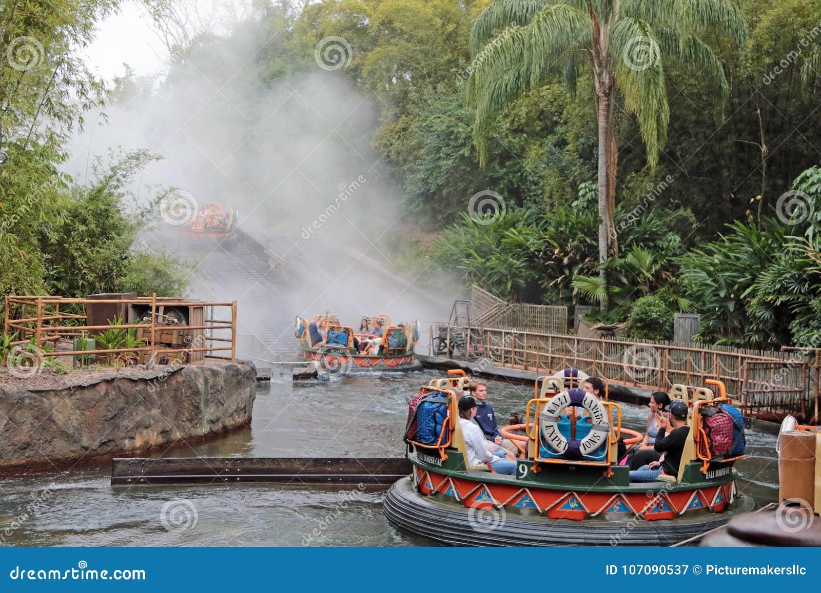 Kali River Rapids, Walt Disney World