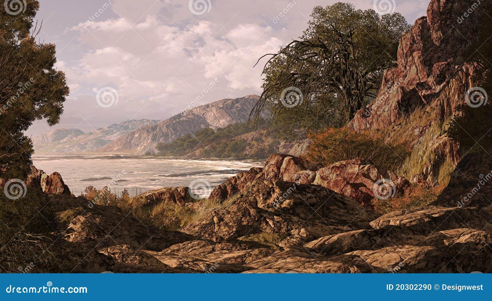 Kalifornien kust