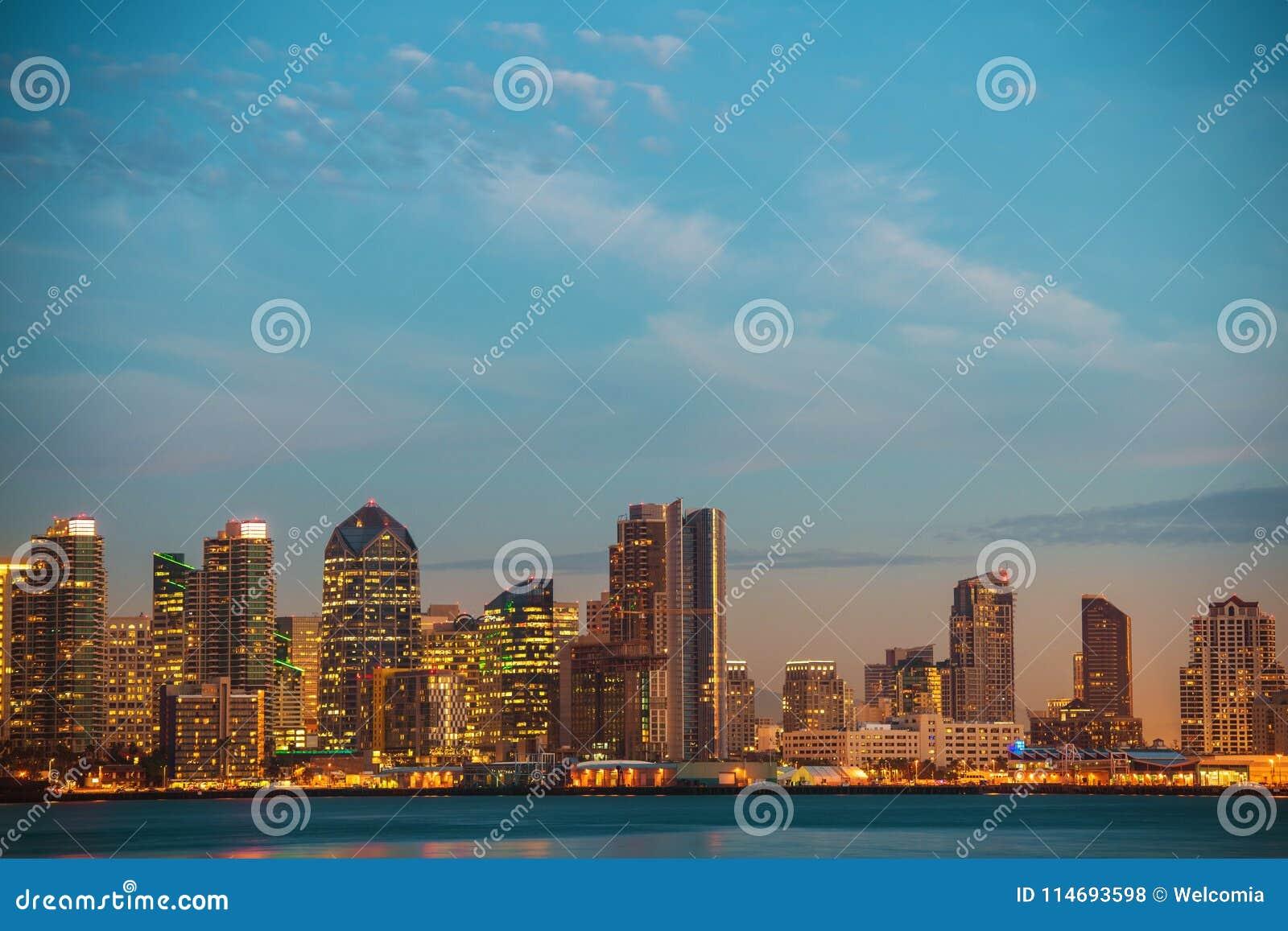 Kalifornien-Stadt von San Diego