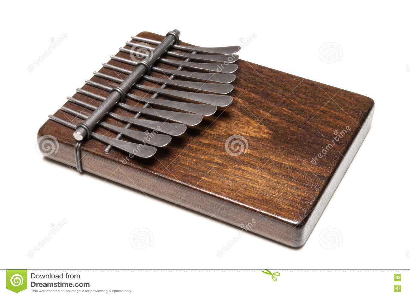 Kalimba Dinstrument Ou Piano Africain Traditionnel De  ~ Instrument En Bois Africain