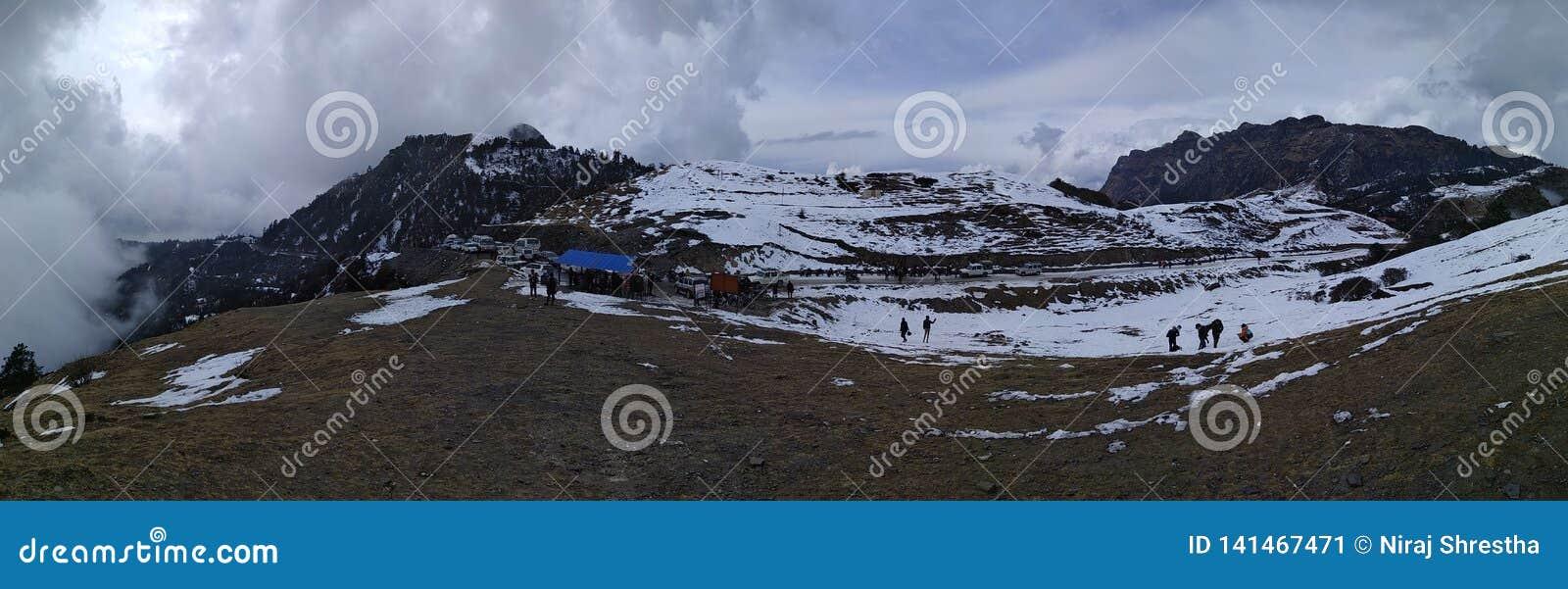 Kalinchowk-Berge im Winter, Nepal