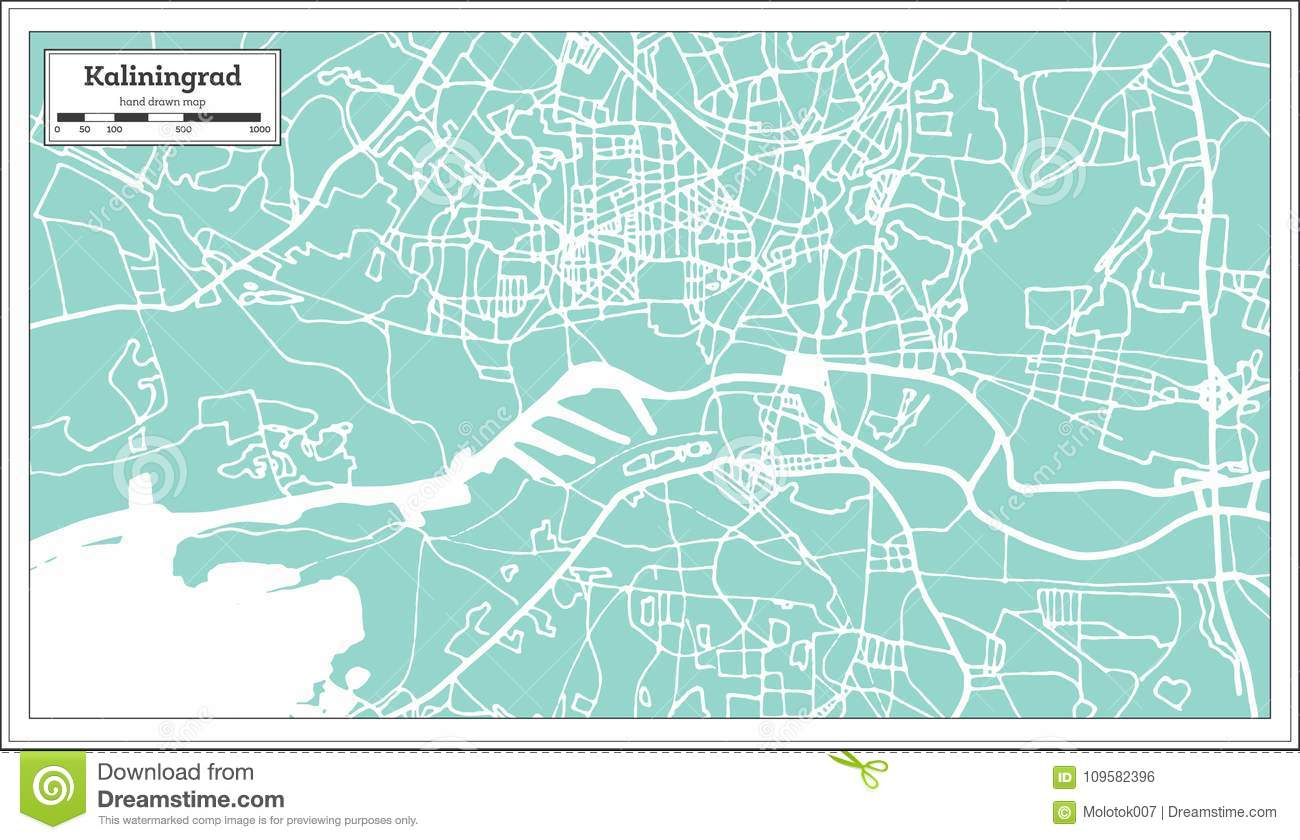 Kaliningrad Russia City Map In Retro Style. Outline Map. Stock ... on russia and the former soviet union map, russia moscow on map, russia hungary on map, tatarstan russia map, russia lake onega on map, novgorod russia map, russia political map, russia and germany, russia lake baikal on map, russia and usa map, city of kaliningrad russia map, european separatist movements map, germany map, kaliningrad oblast map, russia st. petersburg on map,