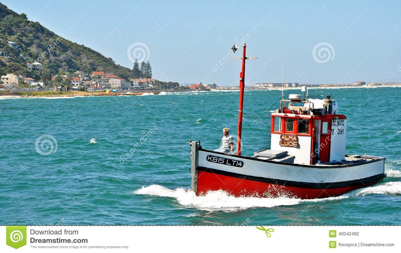Kalk Bay Harbor Cape Town, South Africa Editorial ...