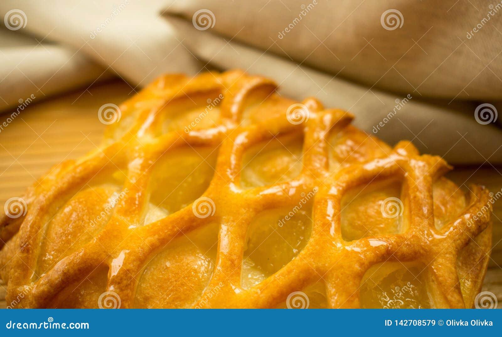 Kalk und Apfelkuchen