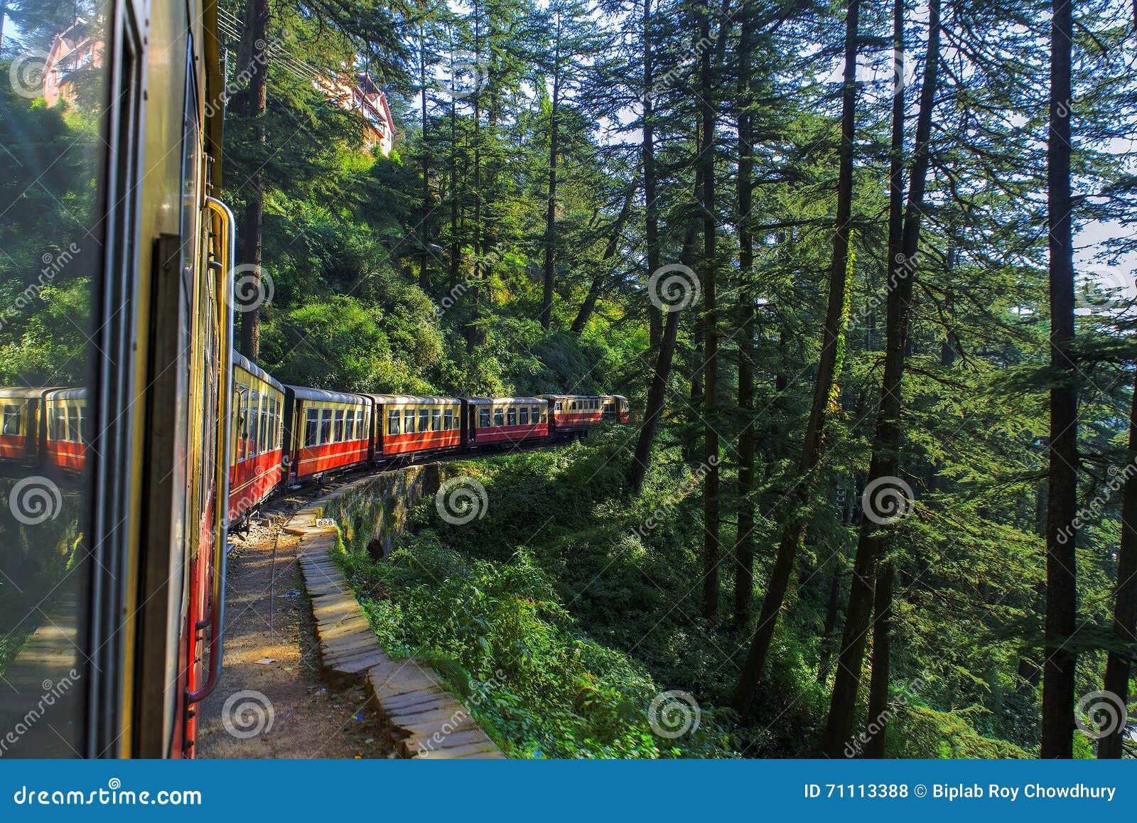 Kalka to Simala toy train.