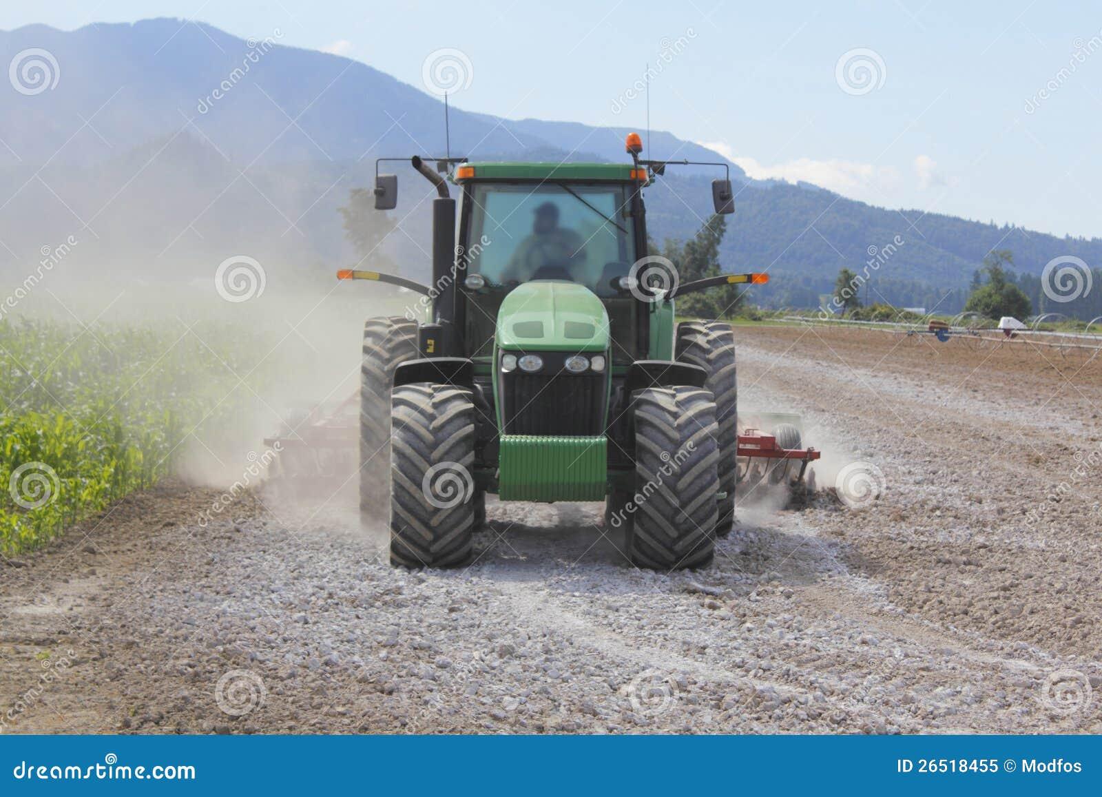 Kalken Des Feldes Stockbild Bild Von Boden Maschine 26518455