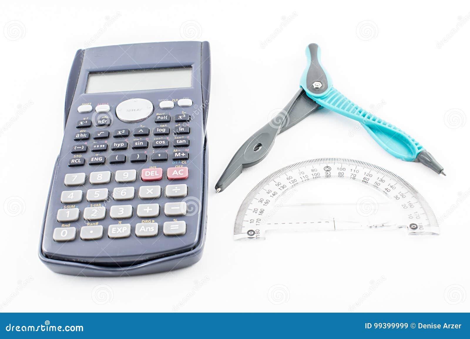 Kalkulator, konwejer i kompas,
