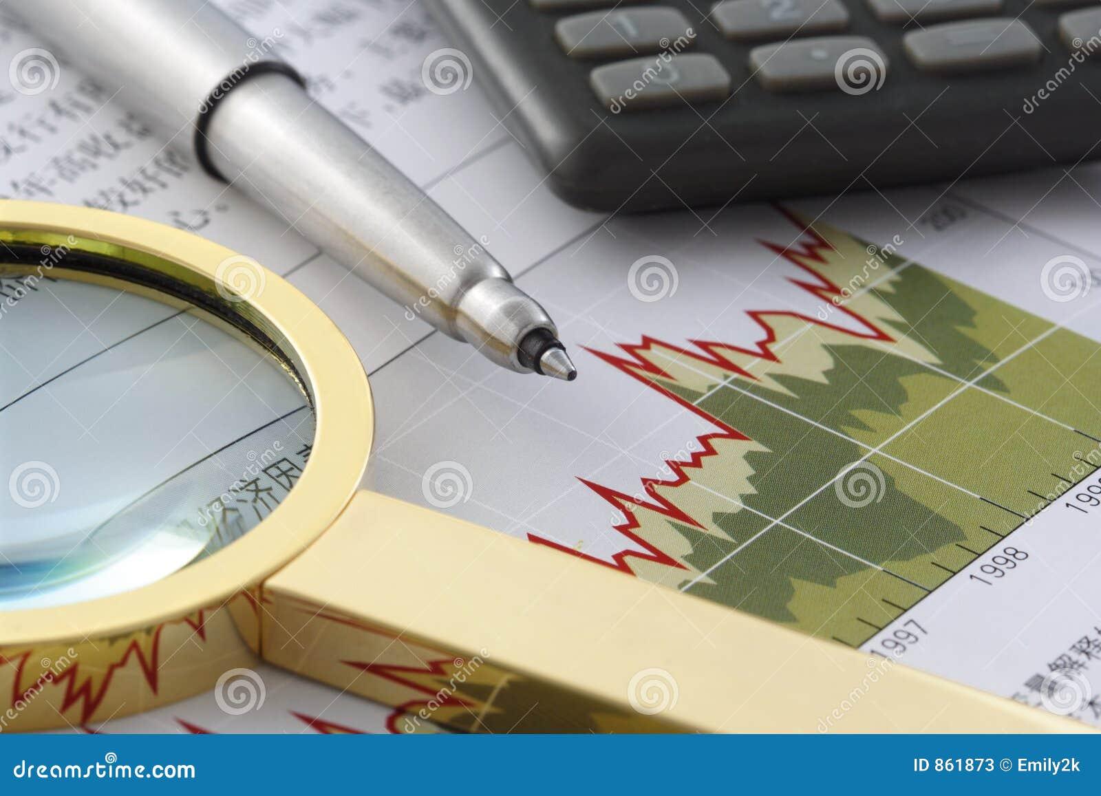 Kalkulator magnifier oświadczenie finansowe pióra
