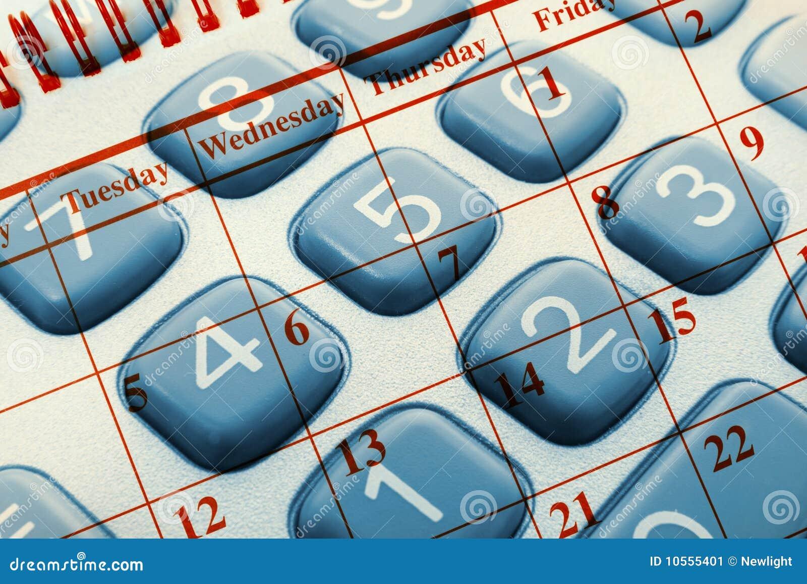 Kalkulatora kalendarz