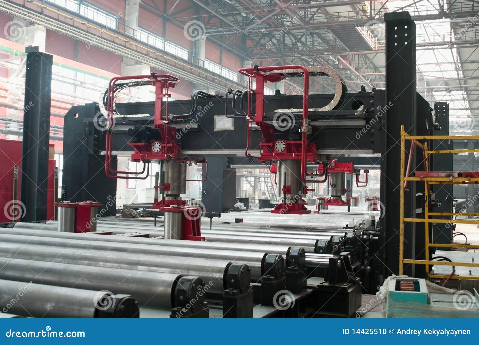 Kall avdelningsfabriksrullning