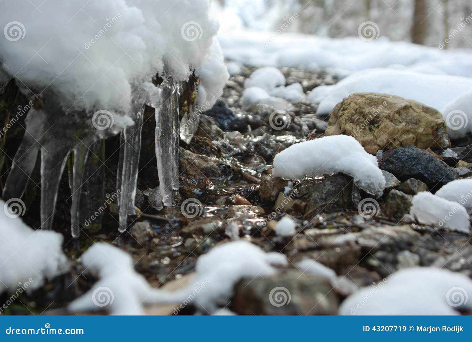 Download Kall bergslinga fotografering för bildbyråer. Bild av ström - 43207719