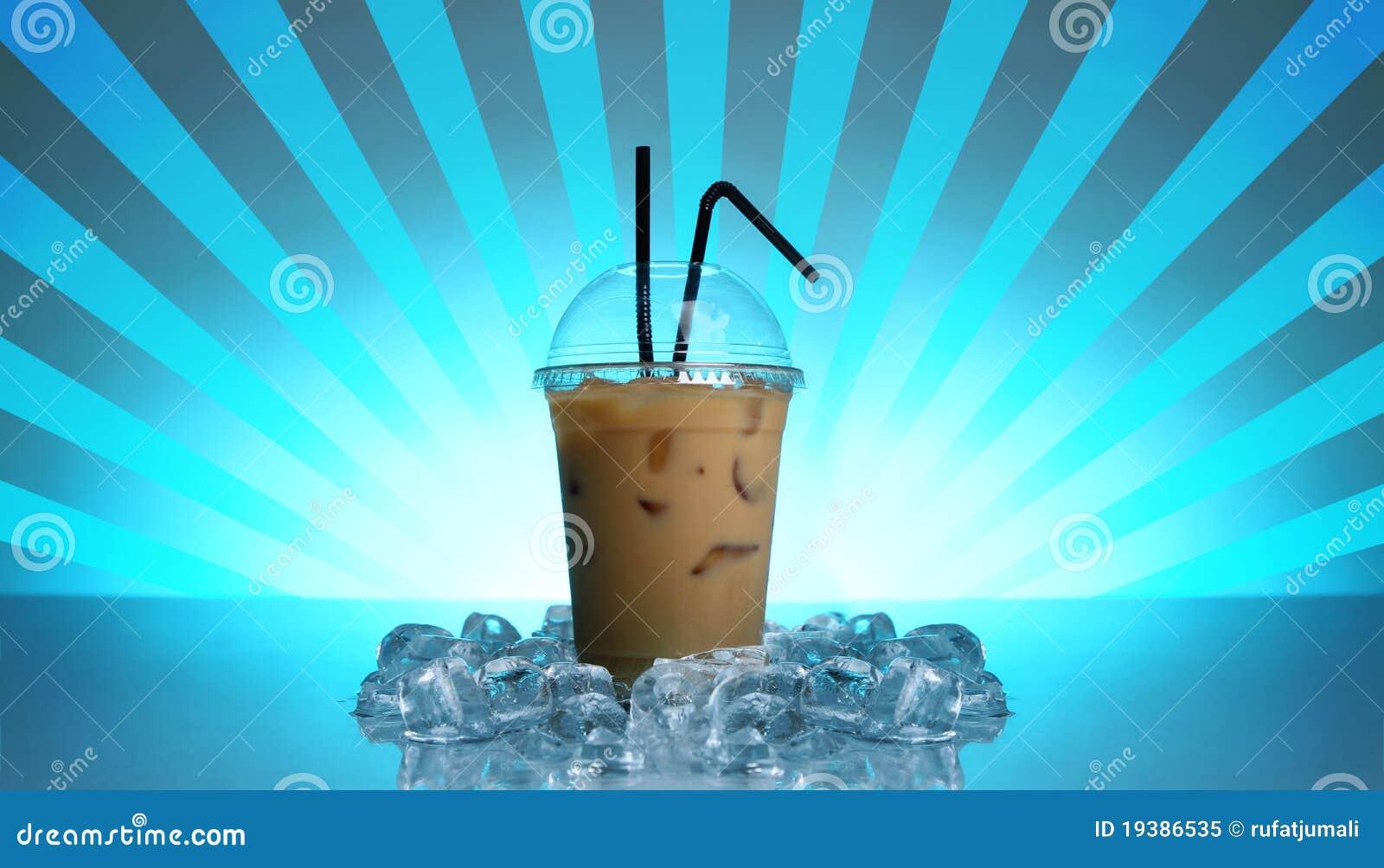 Kall drink för kaffe