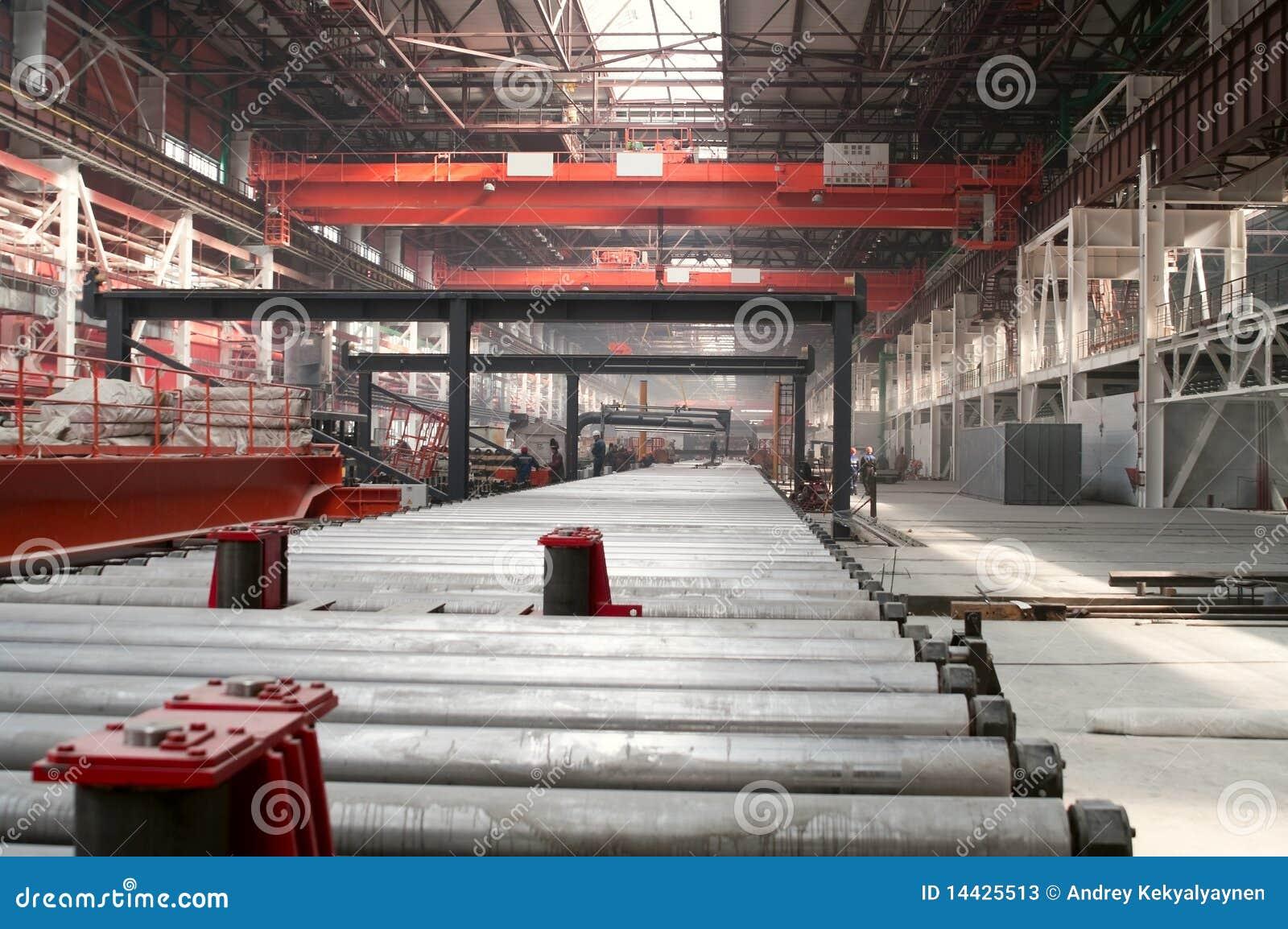 Kall rullning för avdelningsfabriksmetallurgy