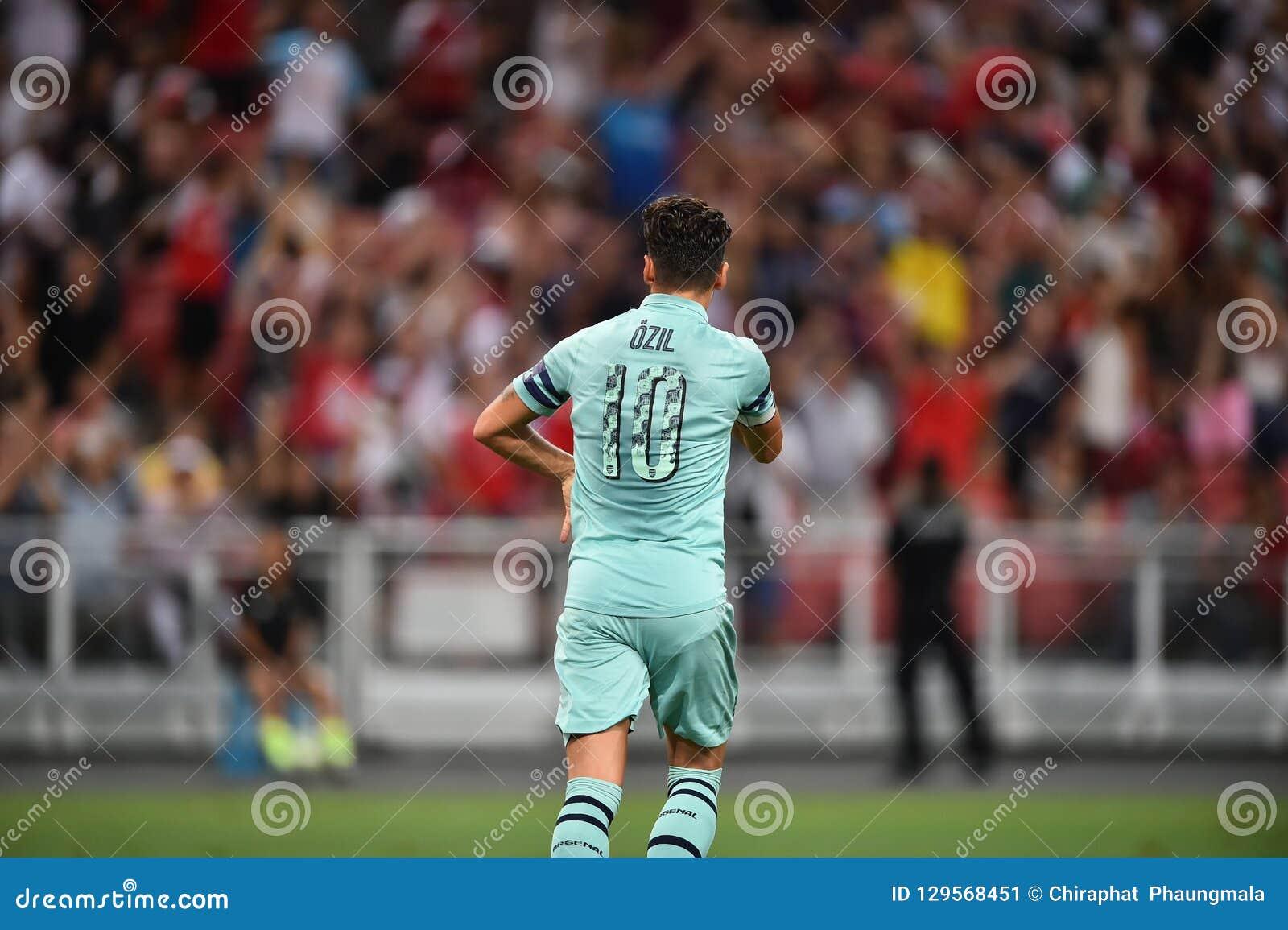 Kallang-Singapour 28 juillet 2018 : Joueur de Mesut Ozil 10 d escroquerie d arsenal