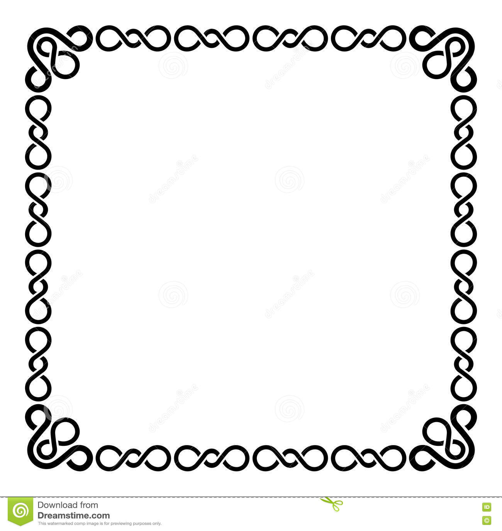 Kalligrafische kader en paginadecoratie krul vector - Paginas web de decoracion ...