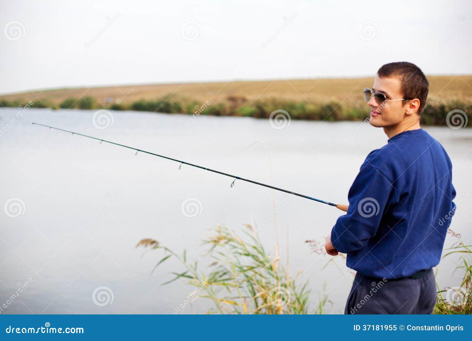 Kallt grabbfiske
